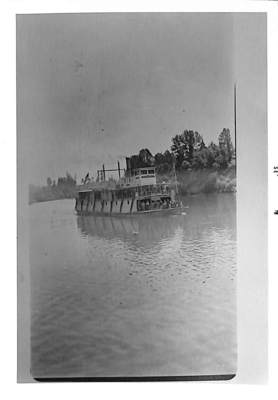Quakers Traveling by Willamette River Boat