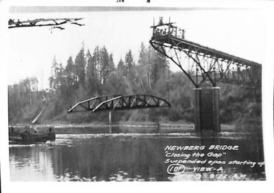 Newberg Bridge Closing the Gap