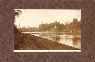 Willamette River and CK Spaulding Mills