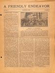 Friendly Endeavor, March 1919
