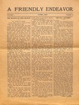 Friendly Endeavor, April 1919 by George Fox University Archives