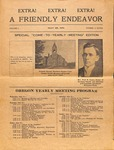Friendly Endeavor, May 1919 by George Fox University Archives