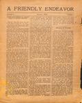 Friendly Endeavor, July 1919