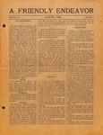 Friendly Endeavor, August 1920