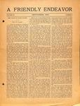 Friendly Endeavor, September 1920