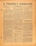 Friendly Endeavor, October 1920
