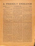 Friendly Endeavor, November 1920