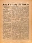 Friendly Endeavor, November 1925