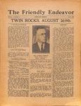 Friendly Endeavor, July 1926