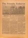 Friendly Endeavor, September 1926