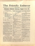 Friendly Endeavor, July 1927