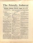 Friendly Endeavor, July 1927