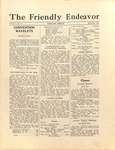 Friendly Endeavor, September 1927