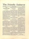 Friendly Endeavor, September 1929
