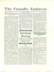 Friendly Endeavor, December 1929 by George Fox University Archives