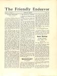 Friendly Endeavor, April 1930