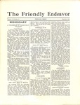 Friendly Endeavor, September 1930