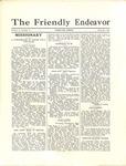 Friendly Endeavor, September 1930