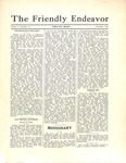 Friendly Endeavor, November 1930 by George Fox University Archives