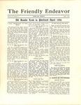 Friendly Endeavor, April 1931 by George Fox University Archives