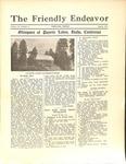 Friendly Endeavor, August 1931