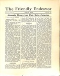 Friendly Endeavor, September 1931
