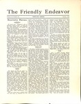 Friendly Endeavor, October 1931