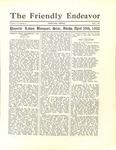 Friendly Endeavor, April 1932 by George Fox University Archives