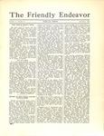 Friendly Endeavor, September 1932