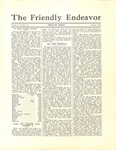 Friendly Endeavor, October 1932