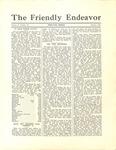Friendly Endeavor, October 1932