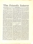 Friendly Endeavor, January 1933 by George Fox University Archives