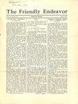 Friendly Endeavor, August 1933