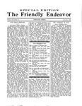 Friendly Endeavor, December 1933 by George Fox University Archives