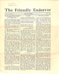 Friendly Endeavor, march 1934