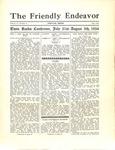 Friendly Endeavor, July 1934