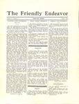 Friendly Endeavor, August 1934