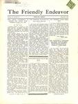 Friendly Endeavor, September 1934