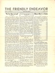Friendly Endeavor, October 1934