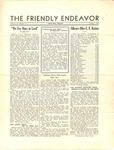 Friendly Endeavor, October 1934