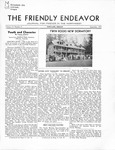 Friendly Endeavor, September 1935