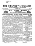 Friendly Endeavor, October 1935