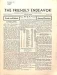 Friendly Endeavor, November 1935