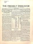 Friendly Endeavor, November 1935
