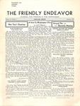 Friendly Endeavor, January 1936