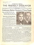 Friendly Endeavor, July 1936 by George Fox University Archives