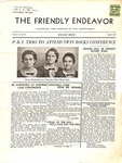Friendly Endeavor, August 1937