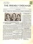 Friendly Endeavor, August 1937