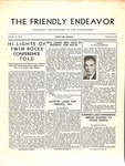 Friendly Endeavor, September 1937