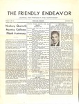 Friendly Endeavor, November 1937 by George Fox University Archives